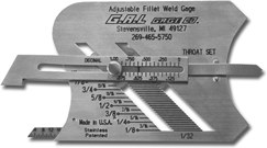 Adjustable-Fillet-Weld-Gage