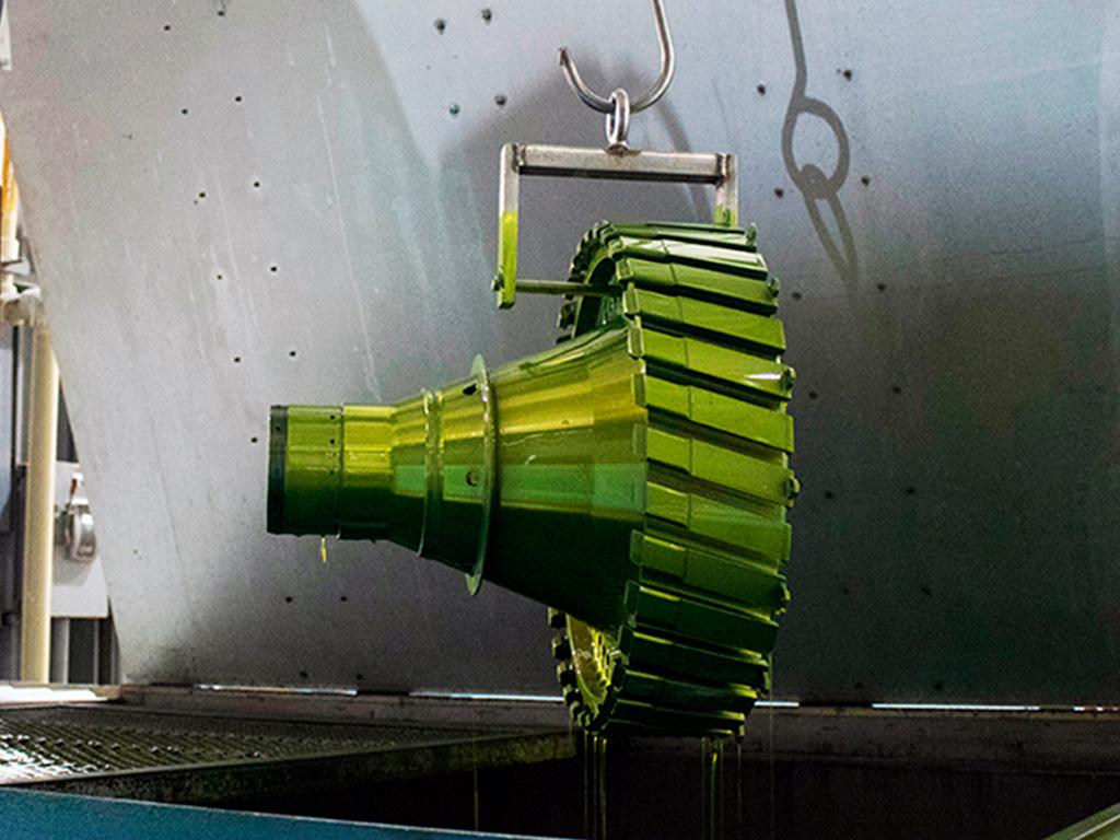 Métodos de desmagnetización para pruebas de baja o alta producción